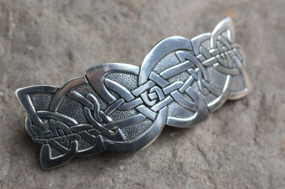 Celtic nouveau Hairslide